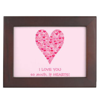 I love you so much it hearts Tiny Hearts Big Heart Keepsake Box