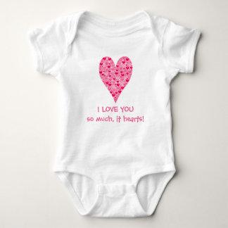 I love you so much it hearts Tiny Hearts Big Heart Shirt
