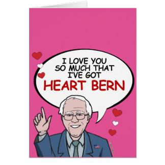I love you so much I've got Heart Bern Greeting Card