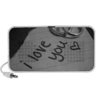 i love you iPod speaker