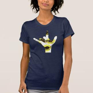 I Love You Sunflower T-Shirt