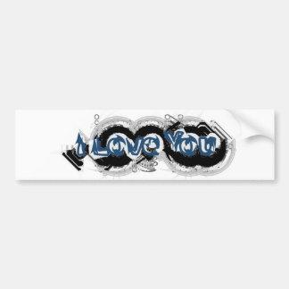 I Love You Tech Bumper Sticker