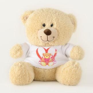 I Love You Teddy Heart Teddy Bear