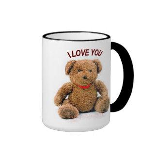 I LOVE YOU Teddy MUG