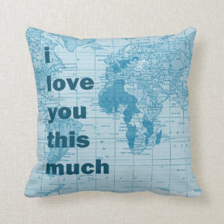 I love you this much ~ pillow