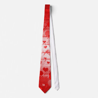 I love you tie