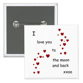 I love you to the moon and back badge by DAL