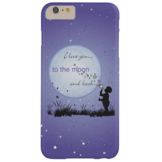 I Love You to the Moon and Back Blowing Bubbles Barely There iPhone 6 Plus Case