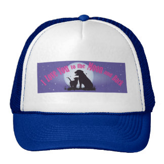 I Love You to the Moon and Back Cap
