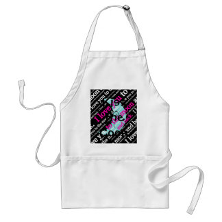 I Love You to the Moon and Back Gifts Standard Apron