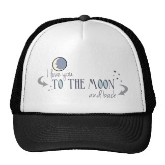 I Love You to the Moon and Back Mesh Hats