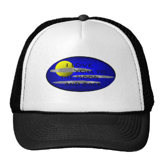 I LOVE YOU TO THE MOON AND BACK - LOVE TO BE ME CAP
