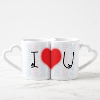 I Love You to the Moon and Back Lovers' Mug Set Lovers Mug