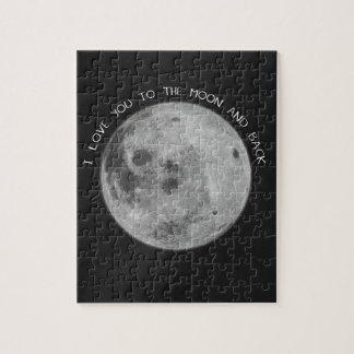 I Love You To The Moon and Back Starry Sky Puzzles