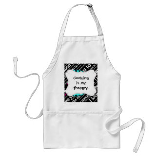 I Love You to the Moon and Back Typography Standard Apron