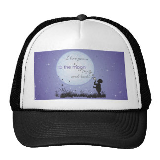 I Love You to the Moon and Back-Unique Gifts Hats