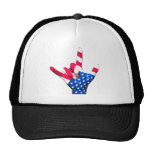 I Love You USA Flag Hat