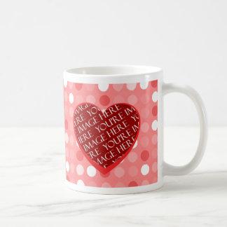I Love You Valentine's Day Photo Template Mug