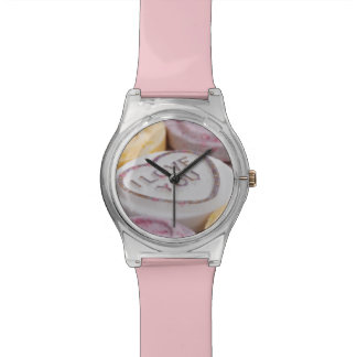 """I Love You"" watches"