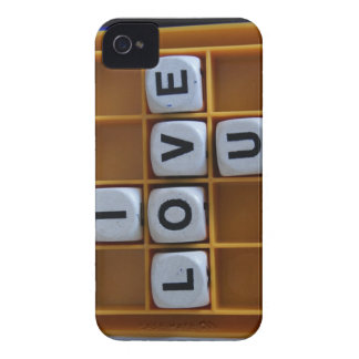 I love you word game Case-Mate iPhone 4 cases
