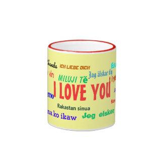 I Love You World Mug