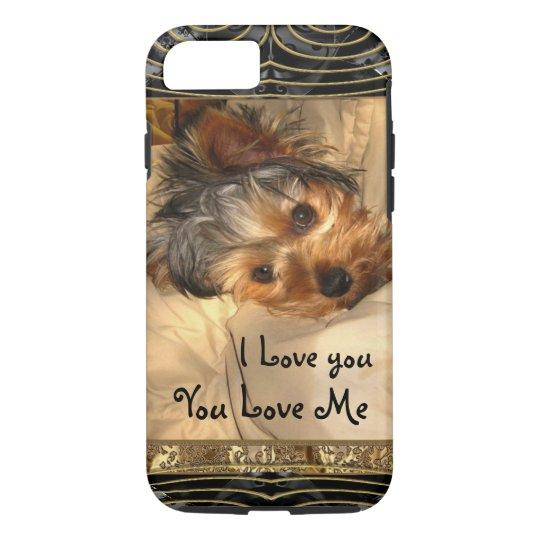 I Love You Yorkie VII iPhone 7 Case