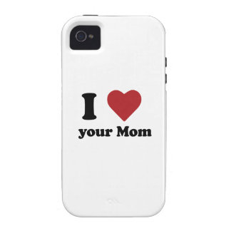 I Love Your Mom Case-Mate iPhone 4 Covers