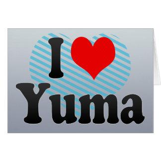 I Love Yuma, United States Greeting Cards