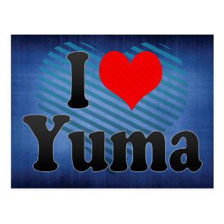 I Love Yuma, United States Post Card