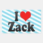 I love Zack Stickers