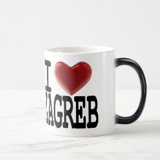 I Love ZAGREB Morphing Mug