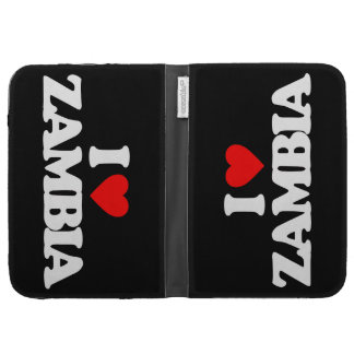 I LOVE ZAMBIA CASES FOR THE KINDLE