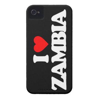 I LOVE ZAMBIA Case-Mate iPhone 4 CASE