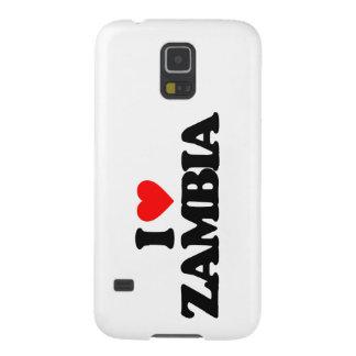I LOVE ZAMBIA GALAXY S5 COVERS