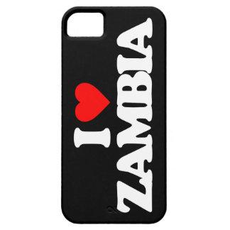 I LOVE ZAMBIA iPhone 5 COVERS