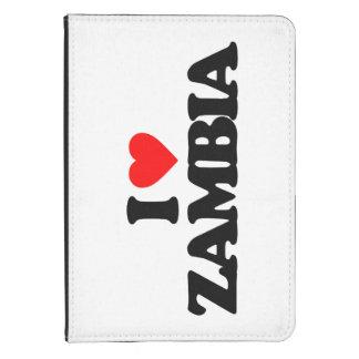 I LOVE ZAMBIA KINDLE 4 CASE