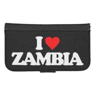 I LOVE ZAMBIA PHONE WALLET