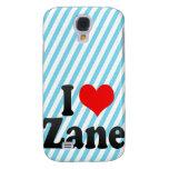I love Zane Samsung Galaxy S4 Covers