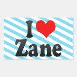 I love Zane Stickers
