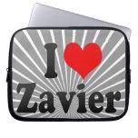 I love Zavier Laptop Sleeve