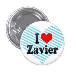 I love Zavier Pins