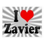 I love Zavier Post Cards