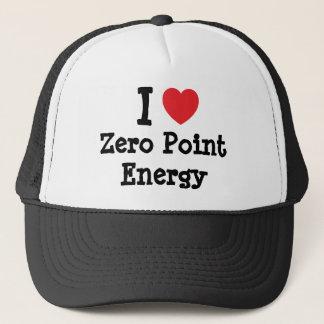 I love Zero Point Energy heart custom personalized Trucker Hat