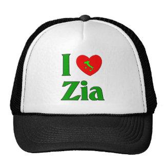 I Love Zia (Italian Aunt) Cap