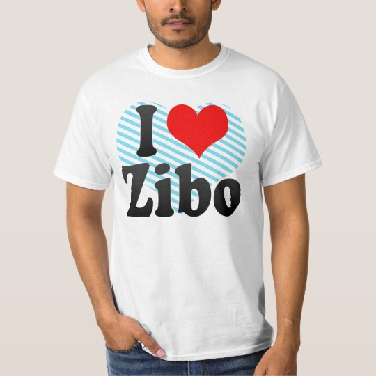 I Love Zibo, China. Wo Ai Zibo, China T-Shirt