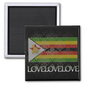 I love Zimbabwe Cool Refrigerator Magnet