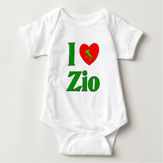 I Love Zio Baby Bodysuit