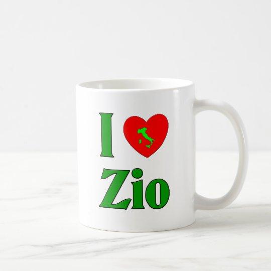 I Love Zio (Italian Uncle) Coffee Mug
