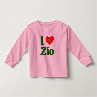 I Love Zio (Italian Uncle) Toddler T-Shirt