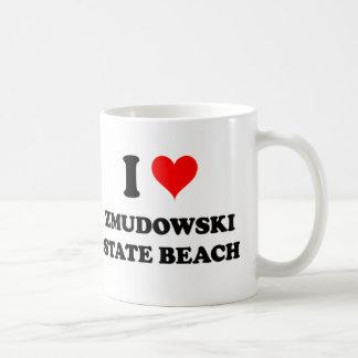 I Love Zmudowski State Beach California Coffee Mug